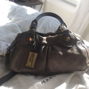 Marc by Marc Jacobs Gray Classic Q Baby Groove